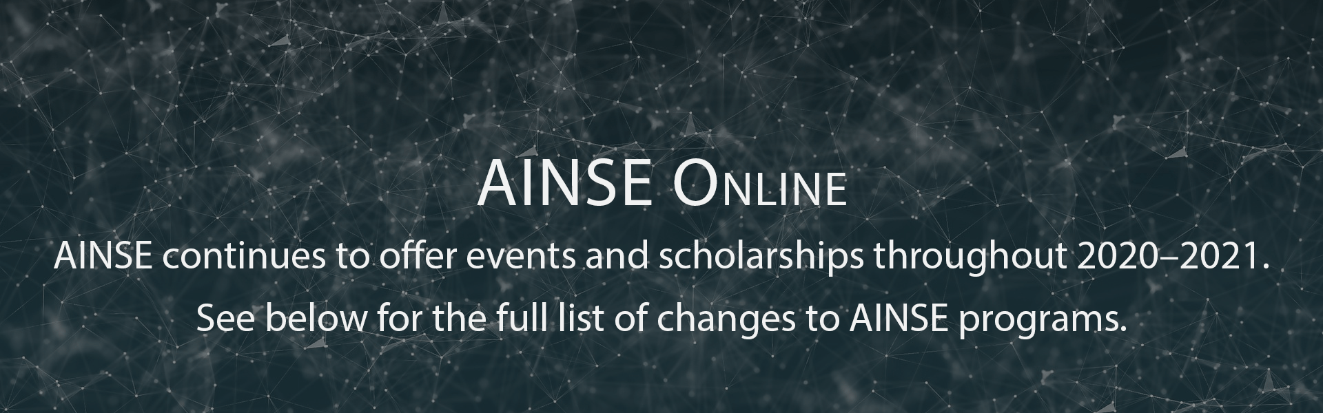 AINSE Online
