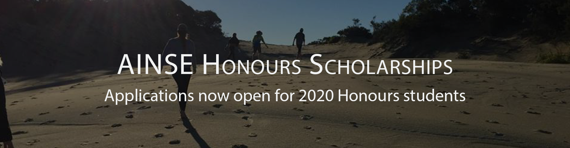 AINSE Honours Scholarships
