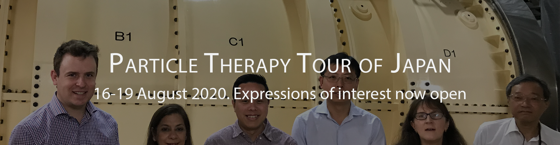 2020 Study Tour: Particle Therapy in Japan